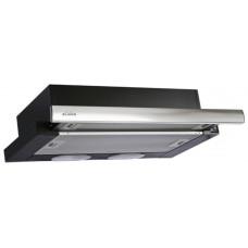 Кухонная вытяжка Elikor Интегра 60П-400-В2Л черный/нерж. сталь