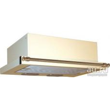 Кухонная вытяжка Elikor Интегра 60П-400-В2Л кремовый/бронза